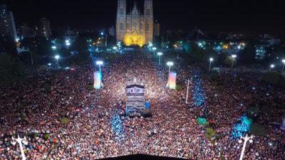 Se celebraron los 135 años de La Plata con un espectáculo imponente y más de 100 mil personas