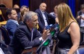 #PactoFiscal / Desde el massismo, Valeria Arata dio el voto positivo y festejó la adhesión a los contratos PPP