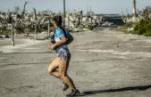 Carhué / Resignificando la ciudad en ruinas, se corrió la Vuelta al Lago Epecuén