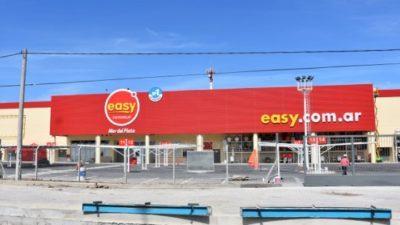 Por la instalación de EASY en Mar del Plata, piden derogar una ley que regula la instalación de las grandes superficies comerciales
