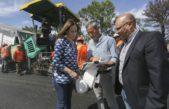 """Vidal recorrió obras de repavimentación en Balcarce: """"podemos salvar vidas con mejores rutas"""""""