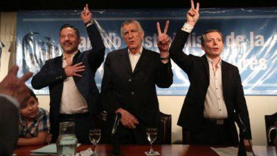 Menéndez y Gray serán los encargados de la reconstrucción del PJ bonaerense