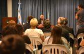 Regueiro volvió como intendente de Presidente Perón y tomó juramento a sus nuevos funcionarios