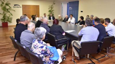 El intendente de San Martín presentó un amparo por la aprobación de la reforma previsional
