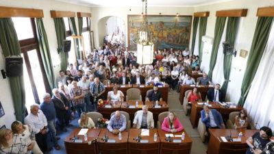 Ensenada / Juraron los nuevos concejales y el presidente del concejo reafirmó su acompañamiento a Secco y Cristina