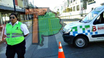 Berisso / Nedela montó un súper operativo policial para la jura de los nuevos concejales