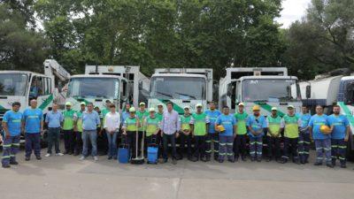 San Isidro presentó un servicio complementario de Higiene Urbana