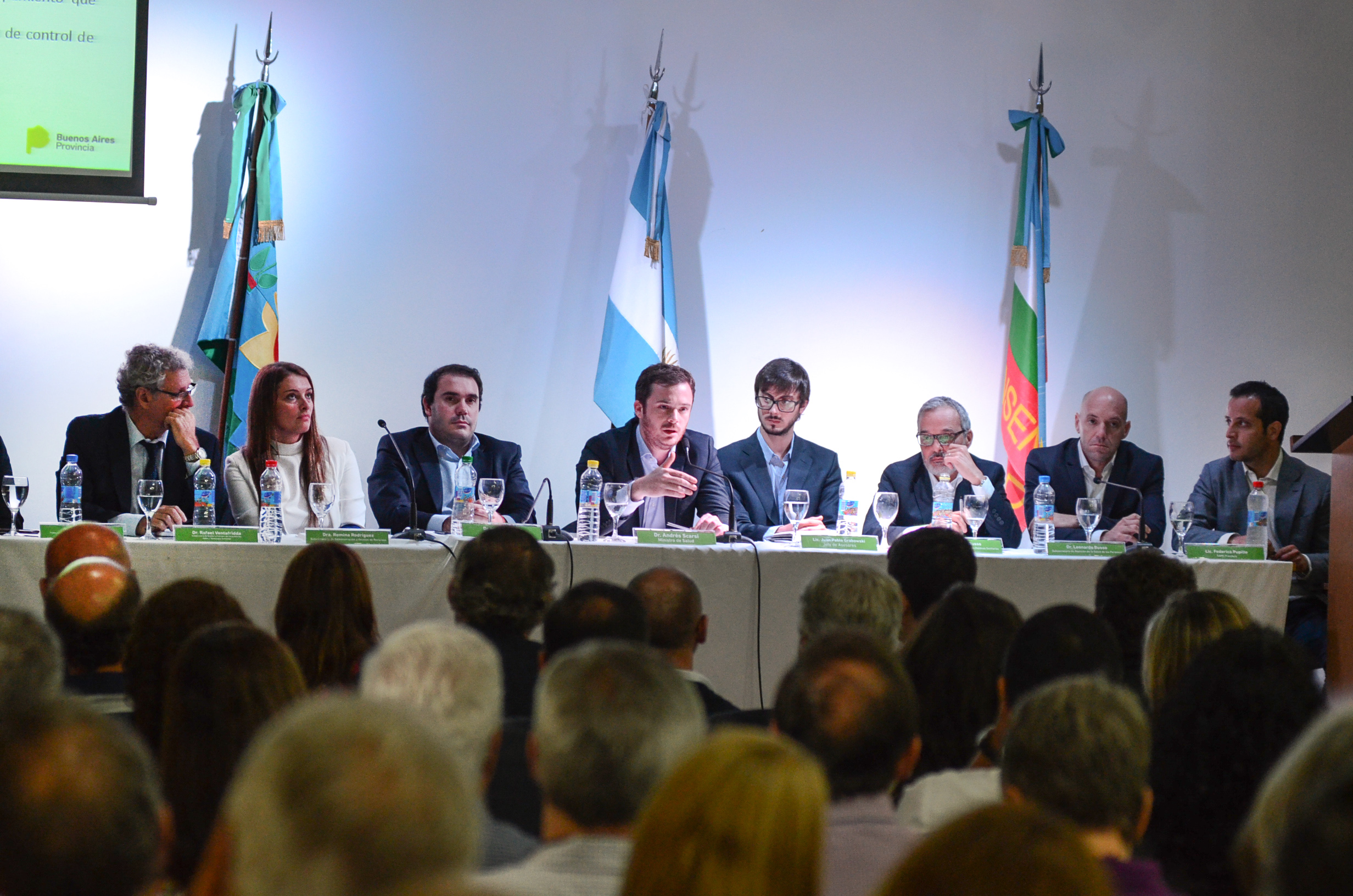 El ministro de salud Andrés Scarsi proyecta para el 2018 nuevas guardias y expansión del SAME en la provincia