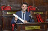 """Juan Fiorini tras asumir como senador provincial sostuvo que """"voy a trabajar por Junín, la cuarta y la provincia"""""""