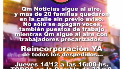 Despidos en QM: Satsaid La Plata pidió la conciliación obligatoria ante el Ministerio de Trabajo