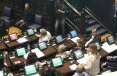 """#PactoFiscal / Saintout desde el bloque K opuso el voto y acusó de ser """"el gobierno del saqueo"""""""