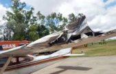 VIDEO / Marcos Di Palma chocó un tendido eléctrico con su avión y dejó sin luz a Arrecifes