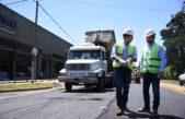 La Plata / Avanza una obra clave con la repavimentación del Camino General Belgrano