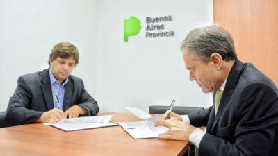 Ferrari y Aybar firman convenios para brindar educación ambiental en las cárceles y alcaidías bonaerenses