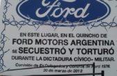 Comienza el juicio contra dos exdirectivos de Ford partícipes de la dictadura