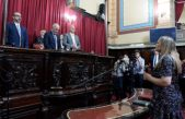 Salvador afirmó que antes de fin de año Vidal tendrá la Ley de ART