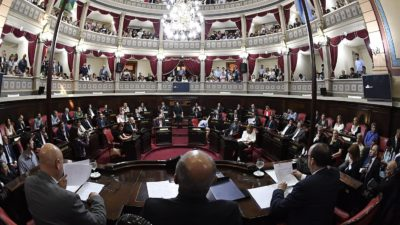 López, Barrera, Petrovich y Carballo las nuevas autoridades en el senado