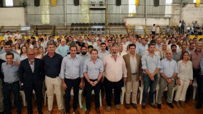 """Garro en el primer plenario de concejales de Cambiemos """"la provincia está empoderando a los municipios"""""""