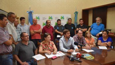 Mercedes / El intendente y sindicalistas buscan derogar la ley de Reforma Previsional