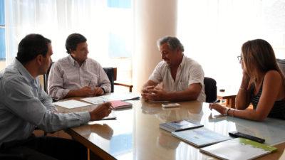 Rojas / Se llevó a cabo una reunión sobre el destino de diversas obras