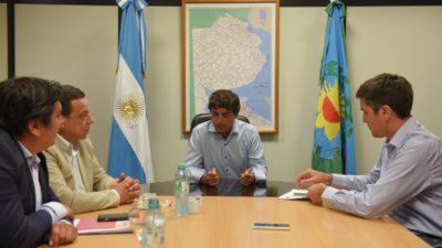 Zárate se sumó de la mano de Lacunza y Mosca al Pacto Fiscal