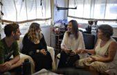 Vidal visitó a una familia de inundados platenses y dijo que este año concluirán las obras hidráulicas