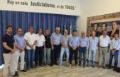 Intendentes de UC se reunieron en Alberti para analizar la adhesión al Pacto Fiscal que propone Vidal
