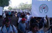 Trabajadores de Cresta Roja y del Hospital Posadas marcharon juntos en CABA