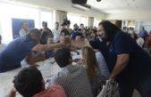 Con la presencia de Moyano y Baradel, el PJ bonaerense endureció su perfil crítico contra el gobierno