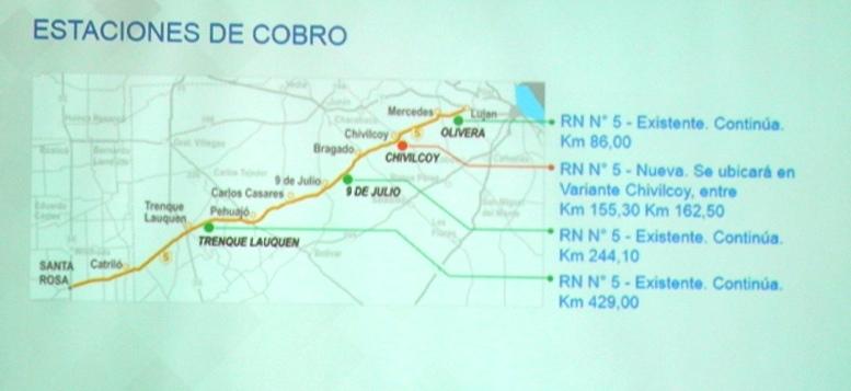 ¡Todo listo! Se realizó la licitación y en abril arranca la construcción de la autopista en Ruta Nº5 desde Luján hasta La Pampa