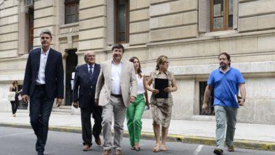 """EL FR cruzó al gobierno """"no pueden gobernar a los decretazos"""""""