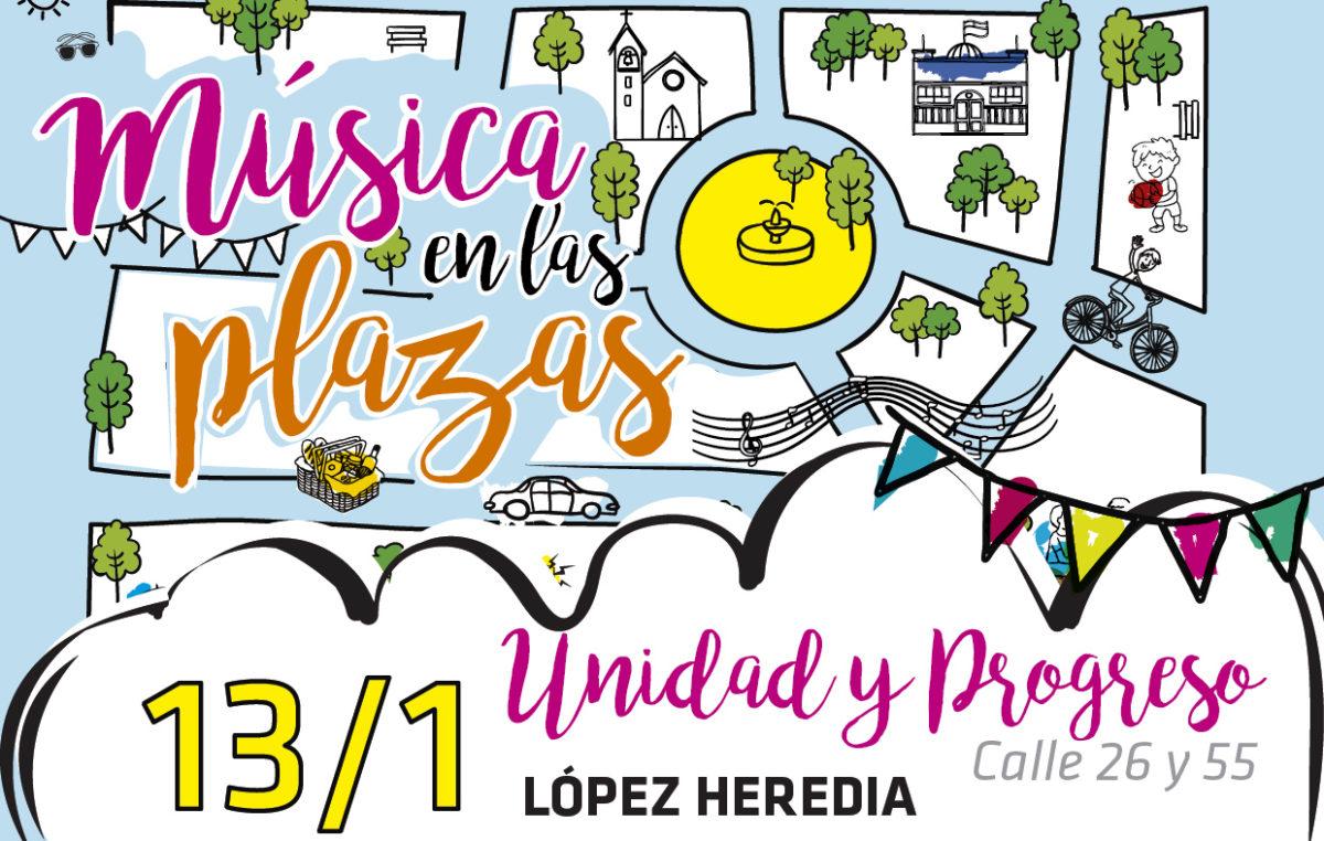 """Cultura en Mercedes: se viene """"Música en las Plazas"""""""