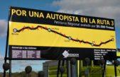 Una obra histórica: se viene la licitación para la conversión de la Ruta 3 en Autopista
