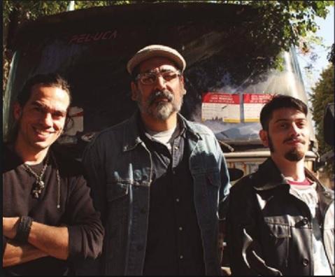 """El cantante de """"La Mississippi"""" Ricardo Tapia cerró el Ciclo de Blues Acústico en Morón"""