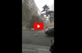 VIDEO / Un fuerte temporal de lluvia y viento azotó a Mar del Plata