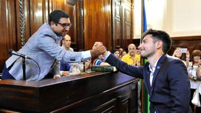 La Plata / Francesco Arriaga asumió una banca en lugar de la nueva secretaria de Planeamiento