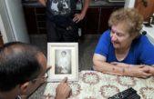 Bolivar / Pisano visitó a los padres de un soldado caído en Malvinas identificado recientemente