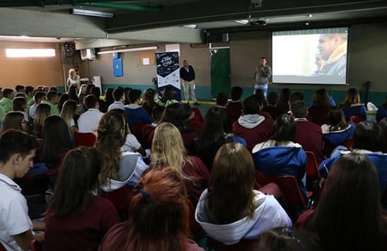 """Ecología, deporte y cultura: más de 3800 jóvenes participaron en las actividades de la red """"Tomá la Voz"""" en San Isidro"""