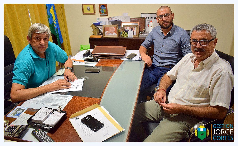 H. Yrigoyen / Se llevó a cabo una reunión entre el intendente y autoridades de EDEN por los frecuentes cortes de luz