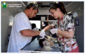 Hipólito Yrigoyen / La Muni realiza operativos de castración de perros y gatos por los barrios