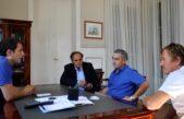 Campana / Abella ratificó su compromiso de seguir acompañando al Club Villa Dálmine