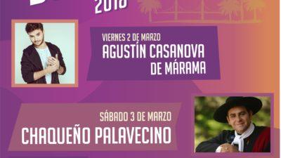 """El festival """"Me Encanta Bolívar"""" tendrá el cierre a cargo de Luciano Pereyra"""