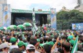 Contundente demostración de fuerza del sindicalismo opositor en la marcha de Moyano