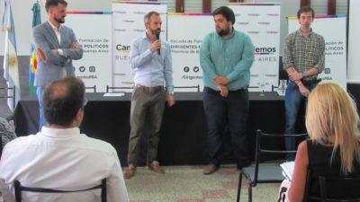 """Olavarría / Dalton Jaúregui, presente en la formación de dirigentes políticos de Cambiemos: """"Estamos transformando la historia de la Argentina"""""""