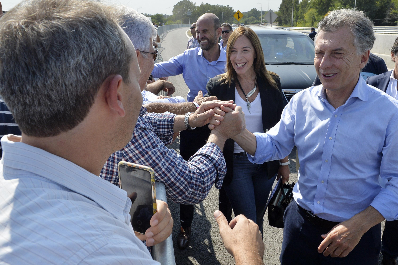 Vidal y Macri inauguraron la autopista Pilar-Pergamino y prometieron terminar antes del 2019 el tramo de la Ruta Nº8