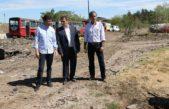 San Isidro / Ritondo y Posse supervisaron las obras en el depósito fiscal de autos de boulogne
