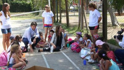 Vidal y Posse destacaron el gran trabajo social de las escuelas de verano en San Isidro