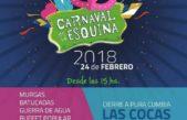 """Carnaval en La Esquina: murgas, guerra de agua y un distinguido cierre a cargo de """"Las Cocas"""" ¿Te lo vas a perder?"""