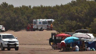 Una camioneta pisó a una mujer en una playa de Claromecó