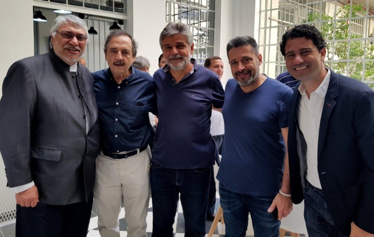 Miembros de COPPPAL en Argentina recibieron a la fórmula de Alianza Ganar  de Paraguay y al ...